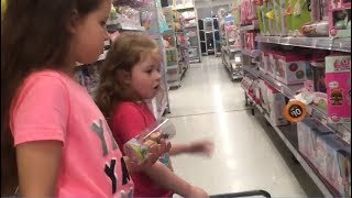 $10 Challenge! Girls have $10 at K-Mart to spend on each other