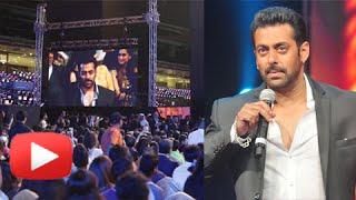 Salman Khan Angered Fans At AIBA Awards! Watch How!