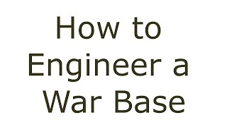 Clash of Clans- How to engineer a War Base Fast & Easy