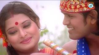 Radha - Baby Naznin Music Video - Antorer Agun