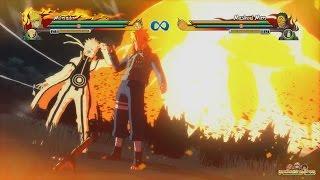 Naruto Shippuden Ultimate Ninja Storm Revolution - All Combo Ultimate Jutsu's Gameplay