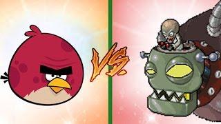 Plants Vs Zombies Vs Angry Birds