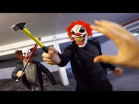 Xxx Mp4 Horror Clowns VS Parkour POV Creepy Halloween Chase 3gp Sex