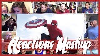 Captain America: Civil War Second Trailer Big Reactions Mashup (15 Best Reaction)