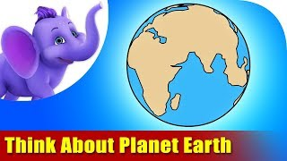 Think About Planet Earth - Environmental Song in Ultra HD 4K