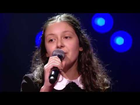 Raphaëlla - 'Faded' | Blind Auditions | The Voice Kids | VTM