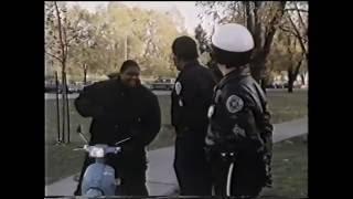 Akademia Policyjna 4 1987 Lektor Fragment filmu z lektorem z ery kaset VHS czyta Leszek Sznyter
