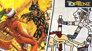 Top 10 HORRIFYING Facts About AZTEC WARRIORS