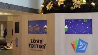 Polaris Office 'Love Editor' Campaign Making Movie