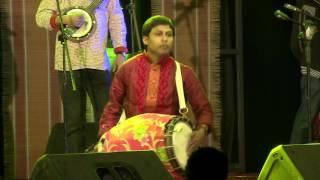 Percussionist Khokan Das playing Dhol_Folks of Bengal at Sur Jahan 2017 Kolkata