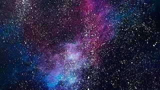 Acrylic Speed Painting | Galaxy IV
