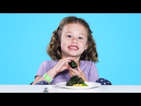 Kids Try Syrian Food Kids Try HiHo Kids