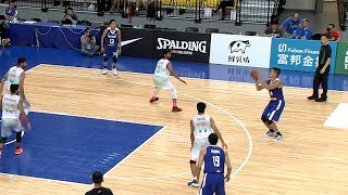Excellent Gilas ball movement leads to a CBC triple! | Jones Cup 2017
