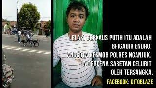INILAH FAKTA DI BALIK DUEL POLISI NGANJUK VS BEGAL MOTOR