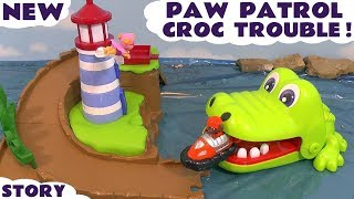 Paw Patrol Roll Patrol Wally Rescue with Skye and Zuma Lighthouse rescue playset