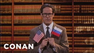Trump Found His Lawyer On TV  - CONAN on TBS