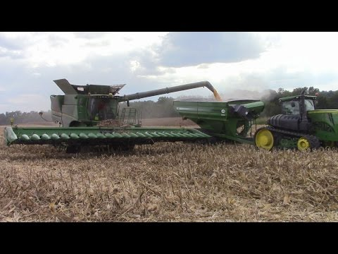 John Deere 24 Row Corn Head
