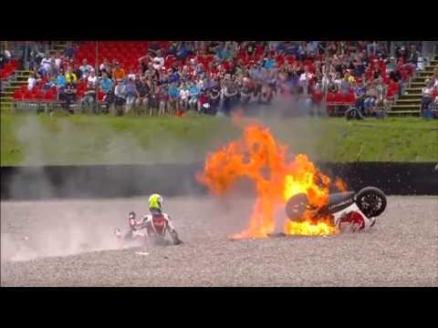 Motovelocidad las peores caidas en moto GP
