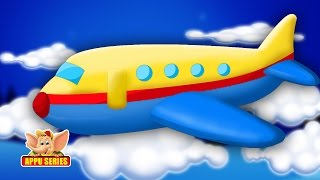 Classic Rhymes from Appu Series - Aeroplane Up In The Sky