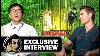 Jackie Chan & Dave Franco THE LEGO NINJAGO MOVIE Interview (JoBlo Exclusive)