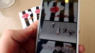 Penguins of Madagascar Augmented Reality brochure by ARLOOPA