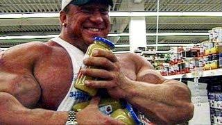 What Mass Freak Markus Ruhl Eats - Cheat Meals In Public