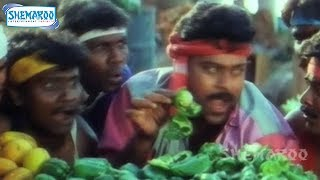 Mutamestri Telugu Movie | Ee Petaku Nene Mestri Song | Chiranjeevi | Meena | Raj Koti