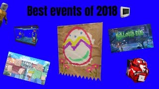 Best events of 2018 [Roblox]