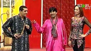Best Of Zafri Khan, Sajan Abbas and Iftikhar ThakurNew Pakistani Stage Drama Full Comedy Funny Clip