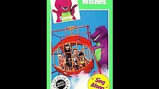 Opening & Closing To Barney:Three Wishes 1992 VHS