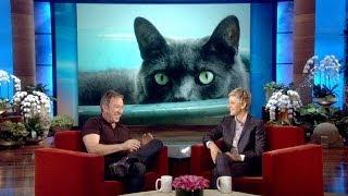 Tim Allen's Huge Cat