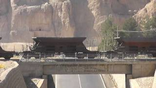 RAI Iran: Freight train on new Shiraz - Esfahan line