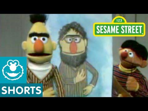 Sesame Street A Portrait of Bert By Ernie