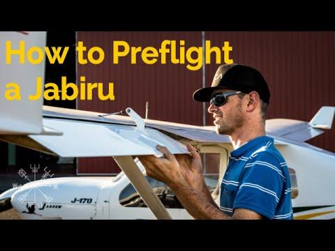 RECREATIONAL PILOT CERTIFICATE: How to preflight a Jabiru