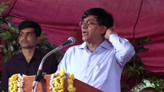 Karnataka Higher education minister Basavaraj Rayareddy attacking to Center