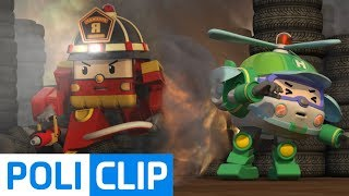 Helly! Where are you? | Robocar Poli Rescue Clips