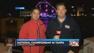 CHAMPIONSHIP REMATCH: Clemson, Alabama take part in Media Day