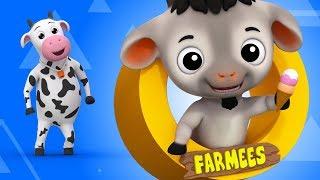 Baby Goat | Nursery Rhyme | Johny Johny Yes Papa | Children Songs | Baby Video by Farmees S02E4252