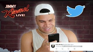 Clout House Reads Mean Tweets
