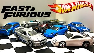 Fast And Furious Hot Wheels Series Unboxing!