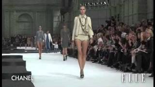 Chanel. Paris Fashion Week primavera verano 2011
