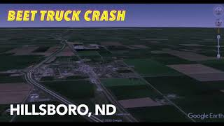 Beet Truck Crash By Hillsboro