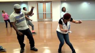 Easy Zydeco Line Dance-Platinum Player Breakdown in Class