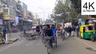Old Delhi Rickshaw Ride, India (4K)
