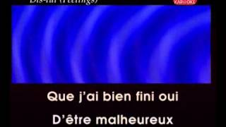 KARAOKE FRANCAIS - MIKE BRANT Dis Lui