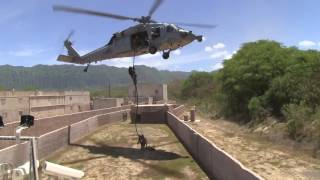 US Marines Helicopter Mission Royalty Free Stock Footage