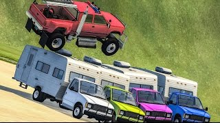 HIGH SPEED JUMPS #4 - BeamNG Drive