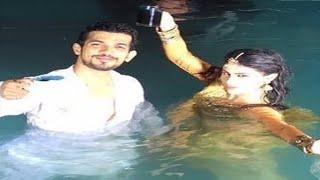 Naagin team shoots underwater sequence | Ritik-Shivanya to die and reincarnate in Nagin Season 2