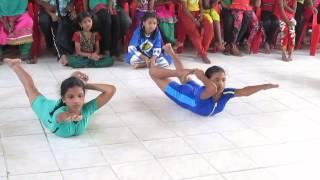 Sinega 6th level - State level JUNIOR & SENIOR yoga championship - 2014 at Cuddalore