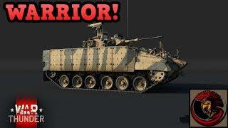 War Thunder | WARRIOR IFV ON DEV SERVER!!